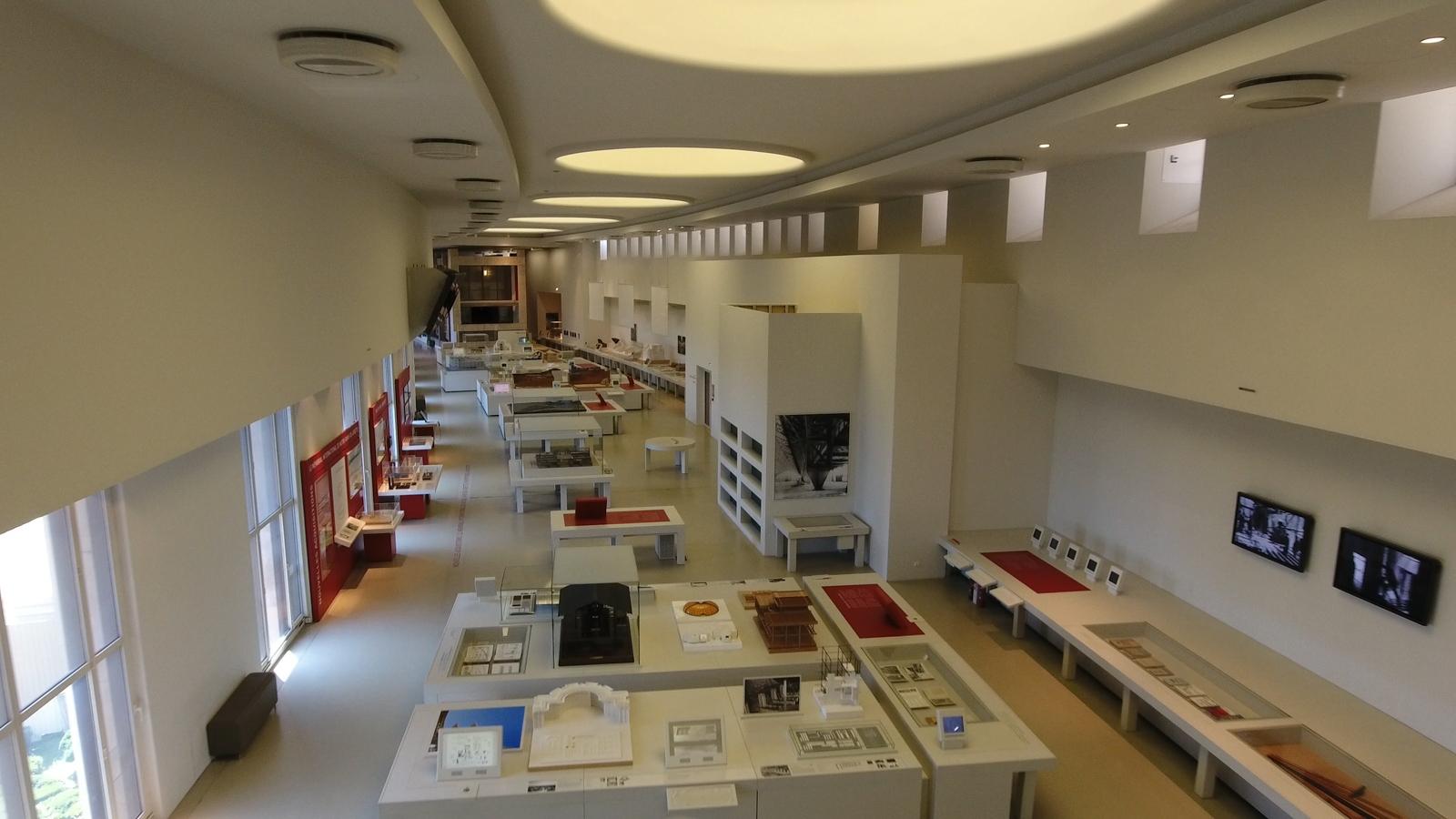 CiteArchi_SalCité de l'Architecture et du Patrimoine (salle moderne)leModerne-02