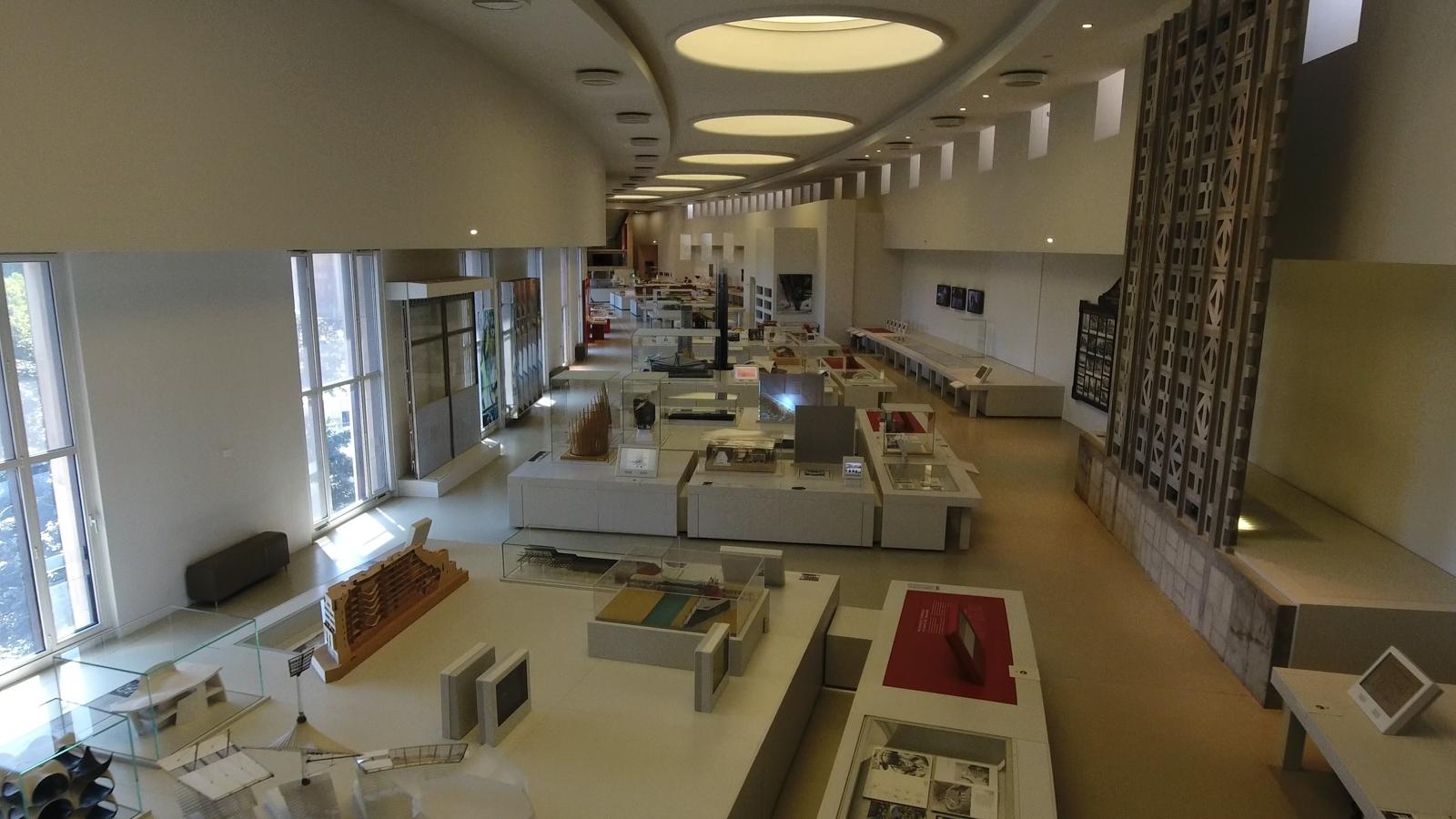 Cité de l'Architecture et du Patrimoine (salle moderne)