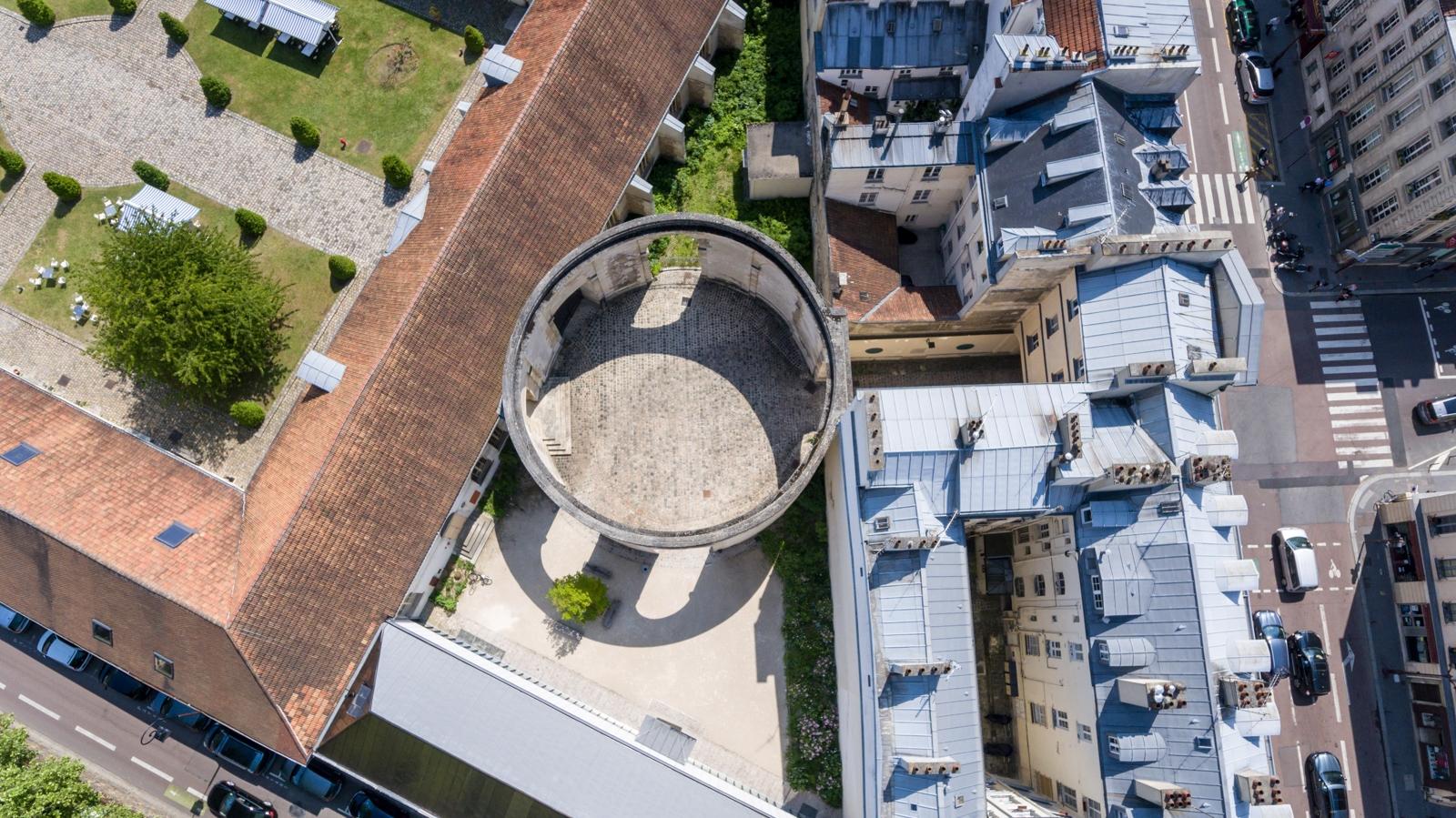 Versailles aérien - Saint-Louis - Rotonde