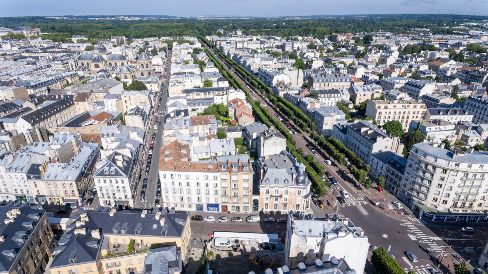 Versailles aérien - Notre-Dame