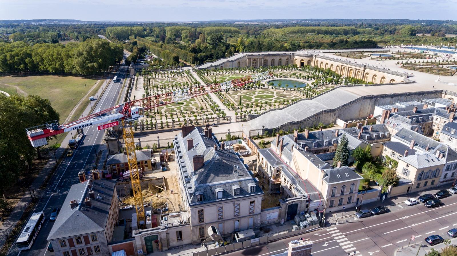 Versailles aérien - Oangerie du Château