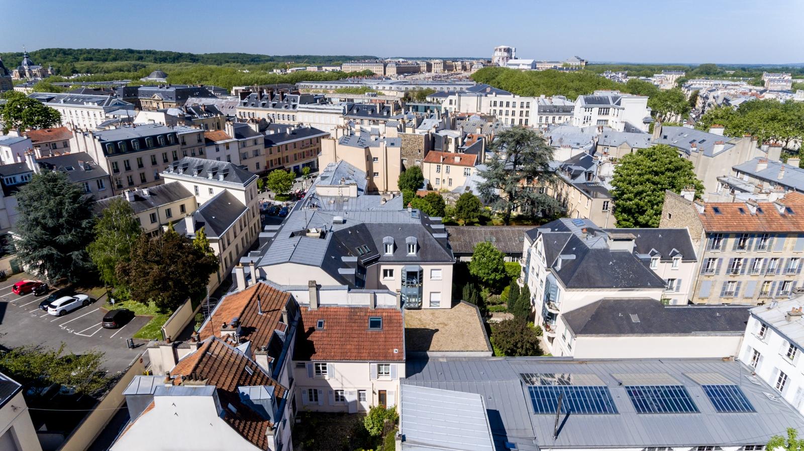 Versailles aérien - Saint-Louis